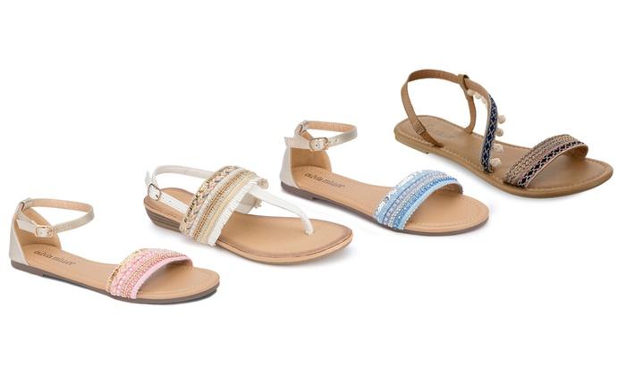 Olivia Miller Women's Boho Boca Sandals