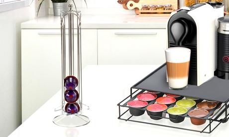 Porta cápsulas para 24 o 36 cápsulas de café Nespresso