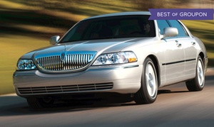 Crown Limo Kansas: One-Way or Round-Trip Airport Transportation for 4 or 10 People from Crown Limo Kansas  (Up to 58% Off)