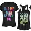 Juniors' Star Wars Printed T-Shirt