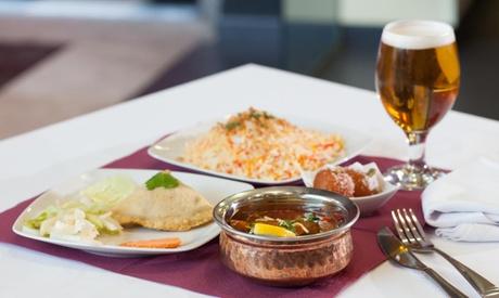 Menú indio para 2 con aperitivo, entrante, principal, acompañamiento, postre y bebida desde 19,95€ en Tierra de Especias