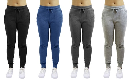 Women's Fleece Jogger Sweatpants (2-Pack) b40d710f-a24a-4574-9101-fbf67d70c0a7