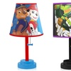 Kids' Die Cut Table Lamp with Animated Characters