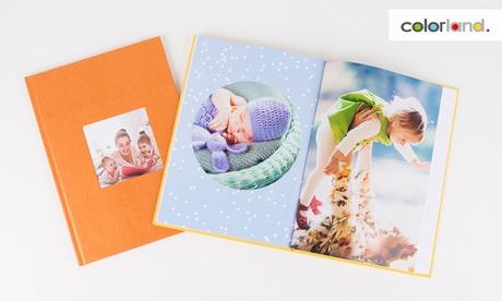 1, 2 o 3 fotolibros a elegir material de tapa, tamaño y número de páginas con Colorland (hasta 87% de descuento)