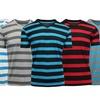 Galaxy by Harvic Men's Striped V-Neck T-Shirt (2-Pack)