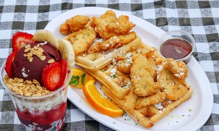 Breakfast at Crazy Good Kitchen (Up to 40% Off). Two Options Available