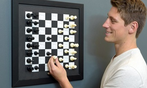 Magnetic Wall Chess Set