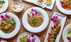 Tajskie menu degustacyjne
