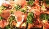 Pizze gourmet con ingredienti DOP in centro