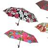 London Fog Mini Auto Floral Umbrella