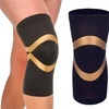 Extreme Fit Copper Compression Knee Sleeve for Men and Women