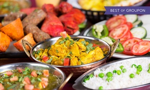 Moghul Restaurant: Two-Course Indian Meal with Rice and Drink for Two or Four at Moghul Restaurant (Up to 35% Off)