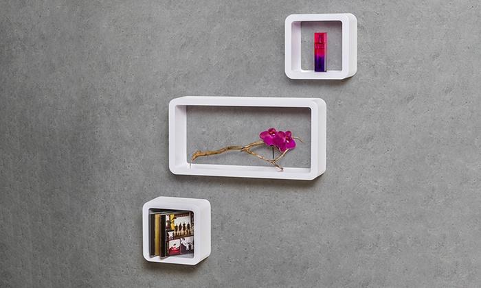 Set di mensole muro groupon goods
