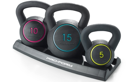 ProForm Kettlebell Kit (6-Piece)