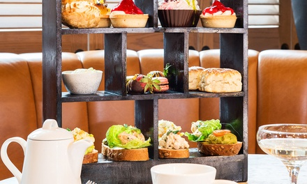Afternoon Tea with Optional Prosecco for Two at Grahamston Bar at 4* Radisson Blu Hotel
