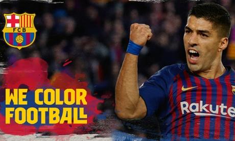 Paga 1,95 € por un Código dto hasta un 50% Barça - Real Sociedad o Levante o Getafe