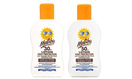 Crema solar para niños Malibu