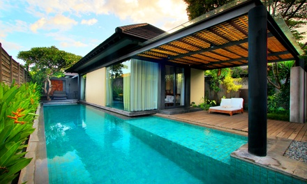Kerobokan, Bali: 2-7 Nights for 2 with Breakfast, Afternoon Tea and Optional Dinner and Massage at Javana Bali Villas
