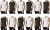 Men's Cotton Black and White A-Shirts (12-Pack): Men's Cotton Black and White A-Shirts (12-Pack)
