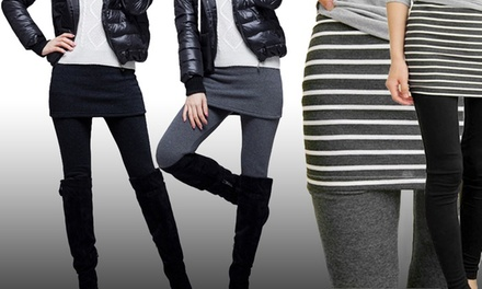 Up to Four 2-in-1 Skirt Leggings from AED 49 (Up to 71% Off)