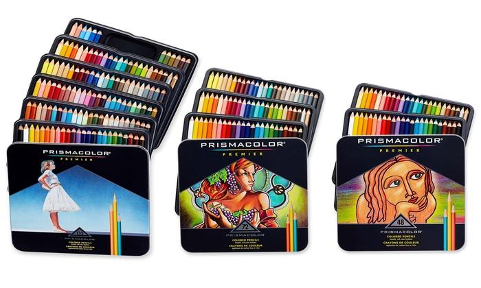 Prismacolor Premier Soft Core Color Pencils 48 Or 72 Count