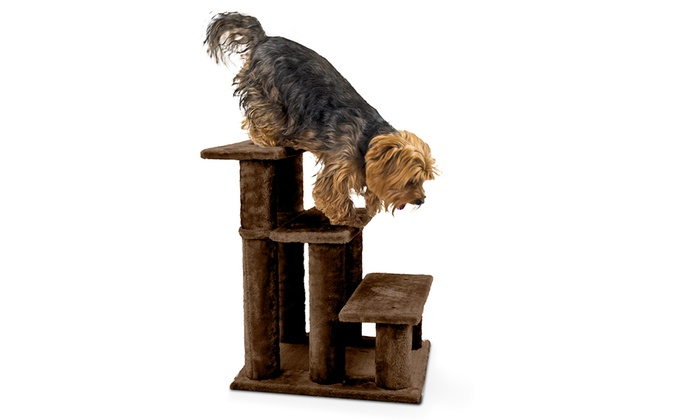 Steady Paws 3  And 4 Step Pet Stairs ...