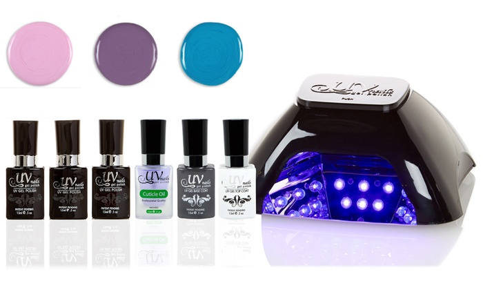Uv Nails Led Lamp And Gel Nail Polish Sets