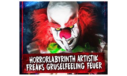 2 Tickets für den Horror Circus
