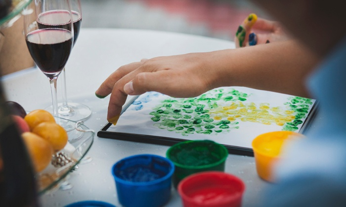 Beyond the Grape - Northeast Pensacola: Up to 51% Off Painting Class & Wine Tastings at Beyond the Grape