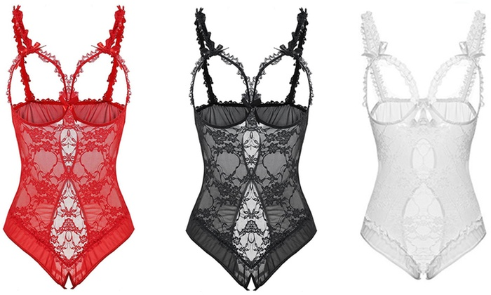 One or Two Sensual Lace Bodysuits for £6.98
