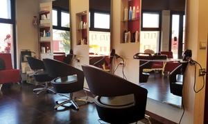 Gimmi Parrucchiere: Taglio, piega e ricostruzione alla cheratina per una o 2 persone al salone Gimmi Parrucchiere (sconto fino a 63%)