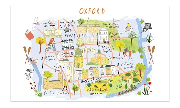 Map London To Oxford.London Or Oxford Map Puzzles Groupon