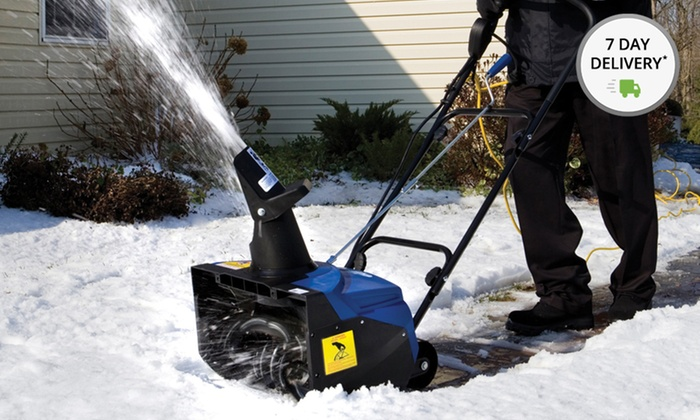 Snow Joe Ultra 18-In. 13.5-Amp Electric Snow Thrower: Snow Joe Ultra 18 In. 13.5-Amp Electric Snow Thrower with Light (SJM988). Free Shipping and Returns.