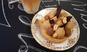 La Fabrique à Gâteaux: Smoothie, milkshake ou frappé au choix, avec entremet maison pour 2, à 9,90 € à la pâtisserie La Fabrique à Gâteaux