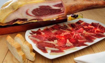 Menú degustación gourmet para 2 o 4 personas con raciones, bebida y postre desde 16,95 € en Ribera Gourmet