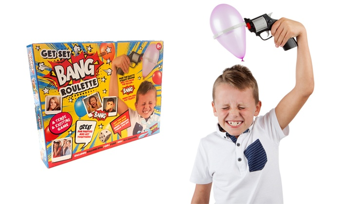 Get Set Bang Roulette Game for £7.99