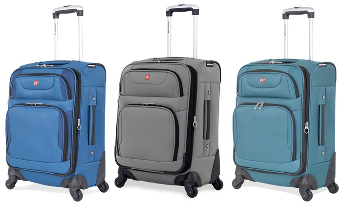 01ca94bde720 SwissGear Expandable Spinner Luggage 20