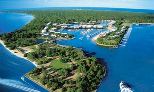 Couran Cove Island Resort: Day Trip, Bike Hire and Drink for One ($35), Two ($70) or Four ($140) at Couran Cove Island Resort (Up to $240 Value)