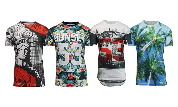 Galaxy By Harvic Men's Graphic Tees
