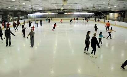image for <strong><strong>Ice</strong> Skating</strong> Admission for Two at Fairfax <strong>Ice</strong> Arena (44% Off)