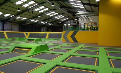 image for One-Hour Trampoline Jump Session for Up to Four at Jump Xtreme Tamworth (Up to 37% Off)