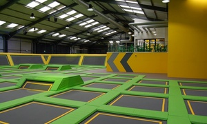 Jump Xtreme (Tamworth): One-Hour Trampoline Jump Session for Up to Four at Jump Xtreme Tamworth (Up to 37% Off)