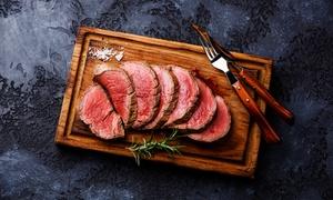 Mareluna: Menu gourmet di carne con calice di Cabernet Sauvignon per 2 o 4 persone al ristorante Mareluna