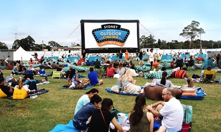 Sydney Hills Outdoor Cinema, Choice of 13 Movies, 25 January 18 February Up to $104 Value