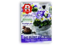 King Media GmbH: 4 Monats-Abo der Zeitschrift Ratgeber Frau und Familie für 12,90 € bei King Media + 10 € Geldprämie