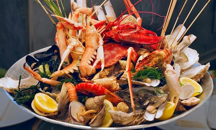 Pranzo Di Compleanno A Base Di Pesce : Cruditè di pesce astice e vino al 114 groupon