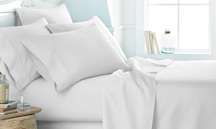 Microfiber Merit Linens Bed Sheets Sets