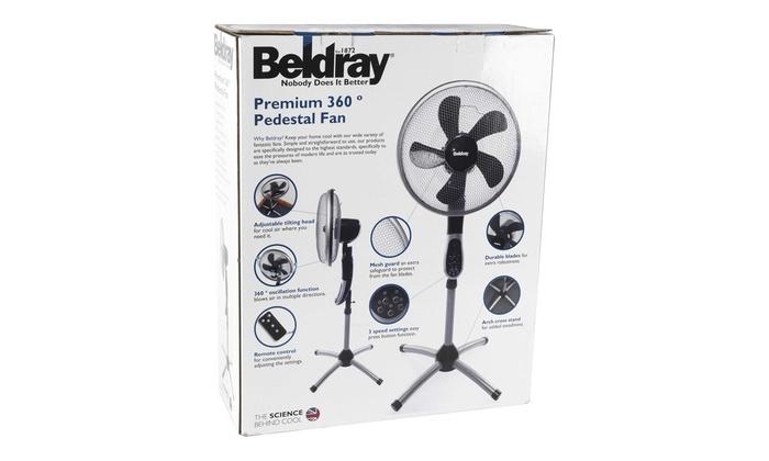 Image result for beldray premium 360 pedestal fan