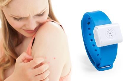 Hasta 5 pulseras antimosquitos con tecnología de ultrasonidos