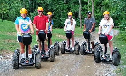 90-Minute Off-Road Segway Tour for One or Two from Harpers Ferry Adventure Center (Up to 42% Off)